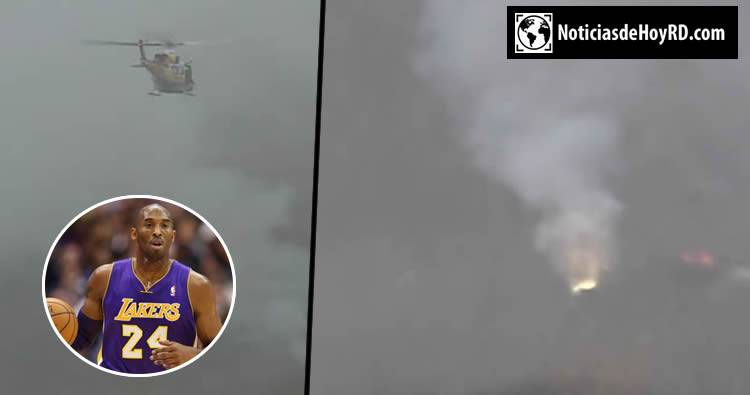Video: Accidente de Kobe Bryant en Helicóptero [lugar de la escena]
