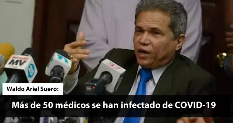 CDM: «Más de 50 médicos se han infectado de COVID-19» | Video