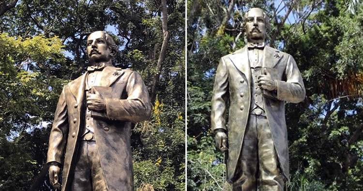 Video: Develan estatua de Juan Pablo Duarte en Santiago