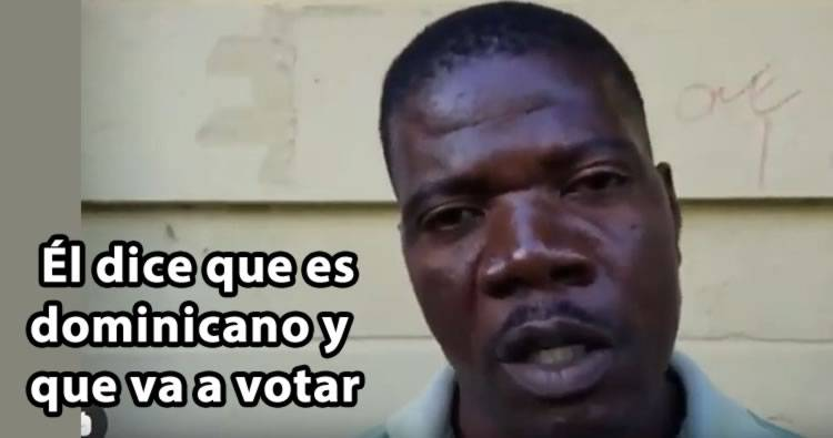Video: Descubren haitiano intentando votar en las primarias