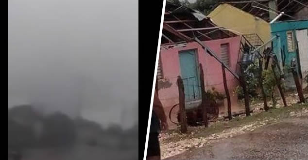 Video: Tornado destruye 12 casas en Oviedo