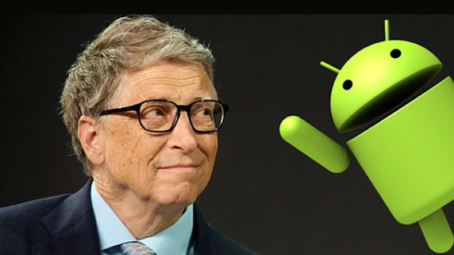 Bill Gates revela porque prefiere Android en vez de IOS-iPhone